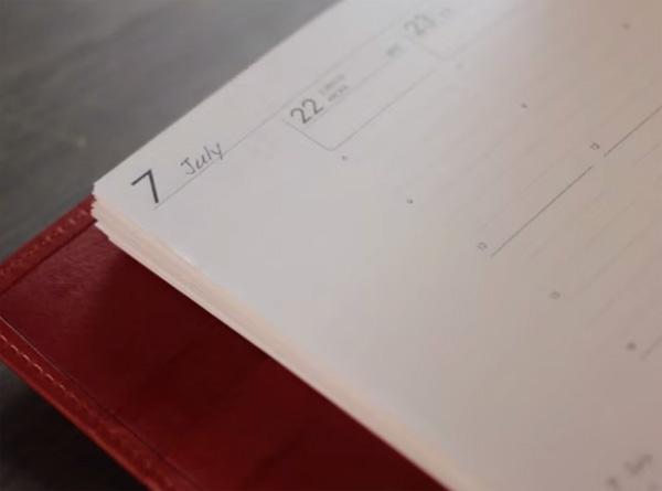 アシュフォード システム手帳 使い方イメージ