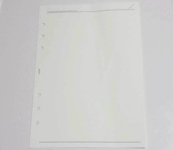 ダヴィンチ Davinci A5システム手帳リフィル ノート無地 DAR296 紙