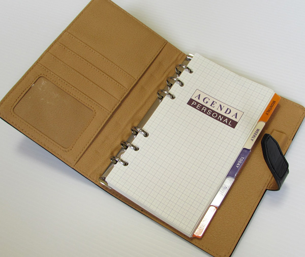 システム手帳 バイブルサイズ イメージ