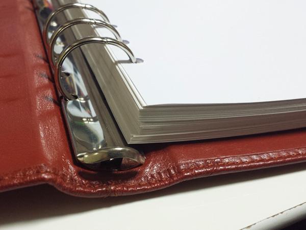 システム手帳 A5 リフィル 厚さ
