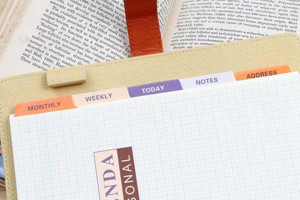 システム手帳の選び方 イメージ