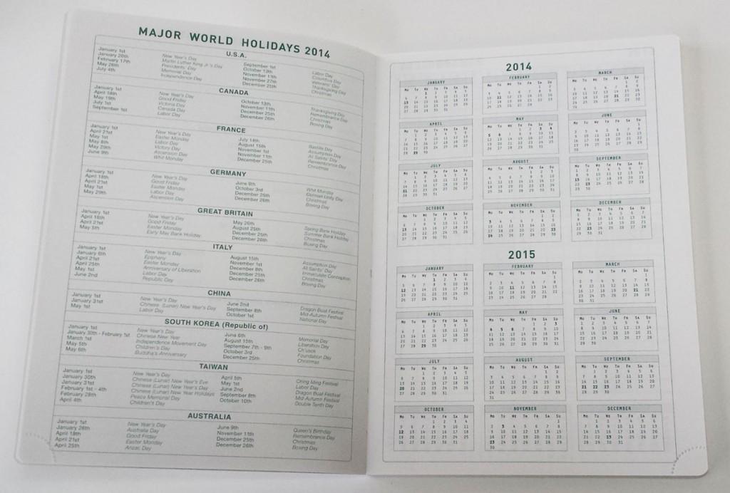 アクションプランナー カレンダー