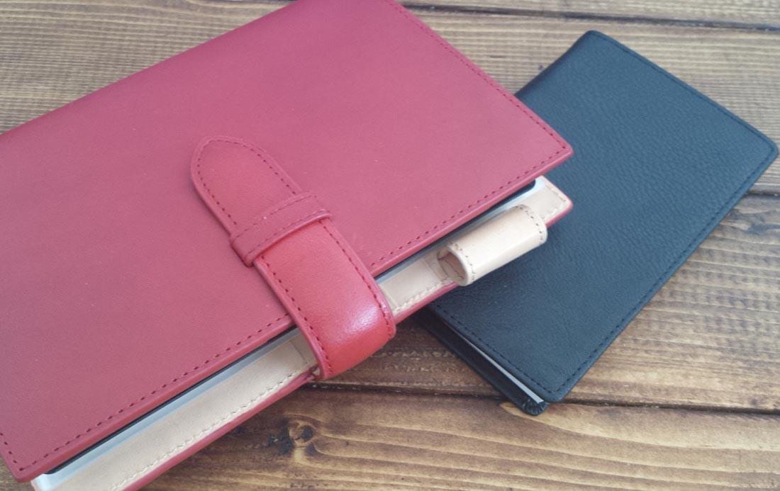 システム手帳と綴じ手帳との違い