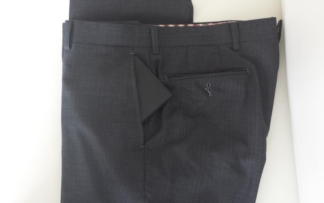 パンツのサイドポケット