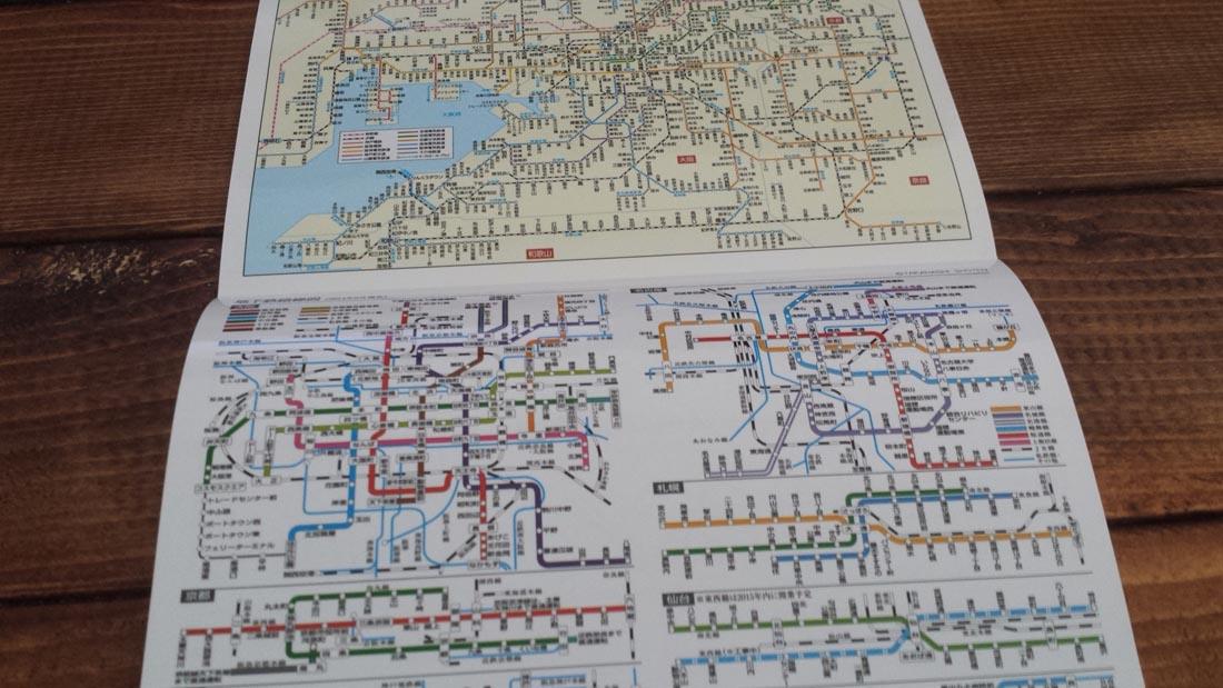大阪路線図